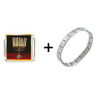 Items from KS - family menorah combination Image.