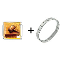 Items from KS - judge' s tool gavel combination Image.