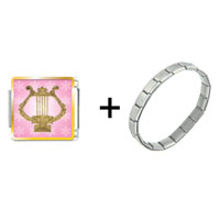 Items from KS - golden lyre combination Image.