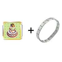 Items from KS - tiered birthday cake combination Image.