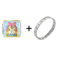 Items from KS - easter basket &  bunny combination Image.