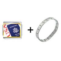 Items from KS - usa passport combination Image.