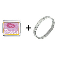Items from KS - pink princess tiara combination Image.
