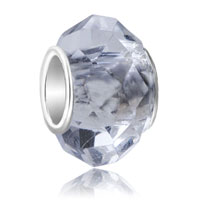 Birthstone Charms Murano Glass Bead Crystal Translucent Glass Bead
