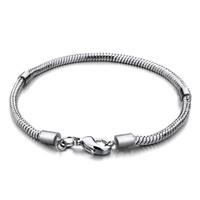 Snake Charms Snake Chains Snake Bracelets 8 3 Inch Snake Chain Lobster Clasp Bracelets