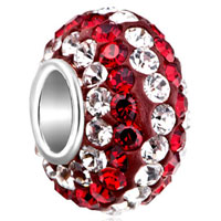 Birthstone Charms 925 Sterling Silver Crystal Gorgeous July Birthstone April Beads Silver Core