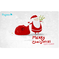 Merry Christmas 10 To 1000 Gift Card Certificate