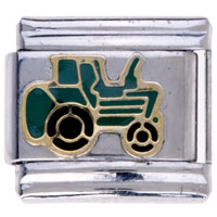 Green Huge Truck Insect Italian Charms