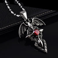 Angel Wings Cross Cremation Keepsake Crystal Heart Jewelry Necklace Pendant