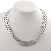 Men S Collarbone Chain Titanium Steel Pendant Necklace
