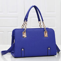 Womens Blue New Hobo Satchel Messenger Bag Leather Purse Shoulder Handbag