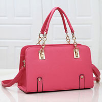 Womens Pink New Hobo Satchel Messenger Bag Leather Purse Shoulder Handbag