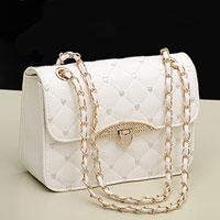 Women S White Shoppers Satchel Totes Cross Body Shoulder Bags Messenger Handbags