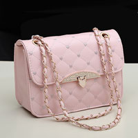Women S Pink Shoppers Satchel Totes Cross Body Shoulder Bags Messenger Handbags