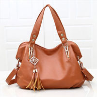 Women S Brown New Hobo Satchel Messenger Bag Pu Purse Shoulder Tassels Handbag