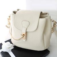 Shoulder Messenger Bag New Fashion Women Pu Leather Handbag Crossbody Satchel White