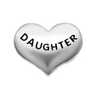 Jewelry Floating Memory Living Locket Silver P Daughter Family Charms