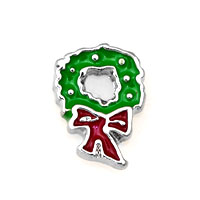 Green Red Flower Garland Floating Charms Fit Memorial Living Locket