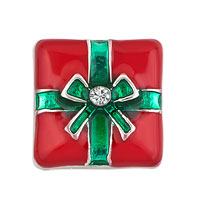 Red Green White Birthstone Box Floating Charms Fit Memorial Living Locket
