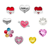 Sale New 10 Pcs Mom Son Love Family Floating Charms For Glass Living Memory Lockets Necklace Bracelets