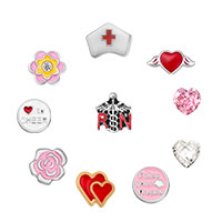 Nurse Floating Charms For Glass Living Memory Lockets Necklace Bracelets