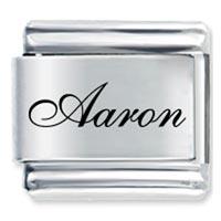 Edwardian Script Font Name Aaron Italian Charms Laser Italian Charm