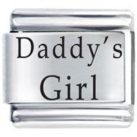 Laser Daddy S Girl Gift Italian Charm Laser Italian Charm