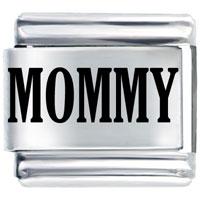 Laser Mommy Holiday Italian Charm Bracelet Laser Italian Charm