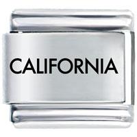 California Laser Italian Charm Bracelet Bracelet Link