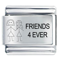 Laser 4 Ever Bracelet Friendship Italian Charms