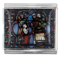 Holy Communion Religious Italian Charms Bracelet Link Mega Mega Italian Charm