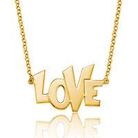 925 Sterling Silver Dangle Love Custom Made Name Pendant Necklace Sterling Silver Pendant