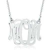 925 Sterling Silver Personalized Mom Mother Family Member Custom Name Necklace