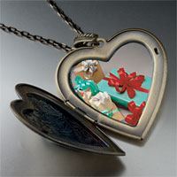 Necklace & Pendants - holiday gifts large photo heart locket pendant necklace Image.