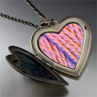 Necklace & Pendants - pink yarn large photo heart locket pendant necklace Image.