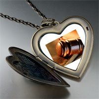 Necklace & Pendants - law large photo heart locket pendant necklace Image.