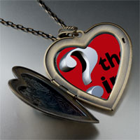 Necklace & Pendants - whats point red large photo heart locket pendant necklace Image.