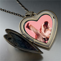 Necklace & Pendants - martial large heart locket pendant necklace Image.