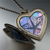 Necklace & Pendants - christmas star large heart locket pendant necklace Image.