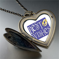 Necklace & Pendants - best wedding wishes large heart locket pendant necklace Image.