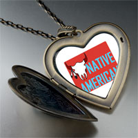 Necklace & Pendants - bull large heart locket pendant necklace Image.