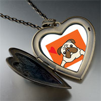 Necklace & Pendants - dog large heart locket pendant necklace Image.