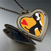 Necklace & Pendants - chihuahua dog large heart locket pendant necklace Image.
