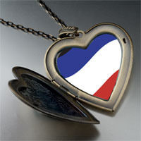 Necklace & Pendants - yugoslavia flag large heart locket pendant necklace Image.