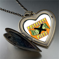 Necklace & Pendants - priceless piece large heart locket pendant necklace Image.