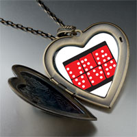 Necklace & Pendants - viva large heart locket pendant necklace Image.