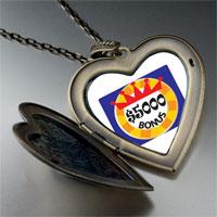 Necklace & Pendants - bonus money large heart locket pendant necklace Image.