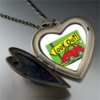 Necklace & Pendants - look out!  large heart locket pendant necklace Image.