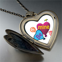 Necklace & Pendants - be heart balloons photo large heart locket pendant necklace Image.