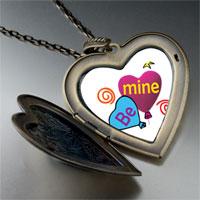 Necklace & Pendants - be heart balloons photo large heart locket pendant necklace Image.